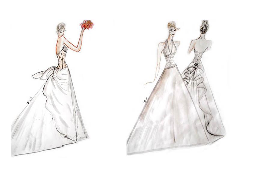 La scelta dell abito da dive e dame eleganza senza tempo le calle - Abiti da sposa dive e dame ...